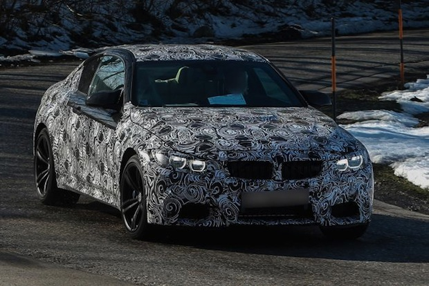 2014 BMW M4 Coupe Spy Shots Autosleek Magazine-3